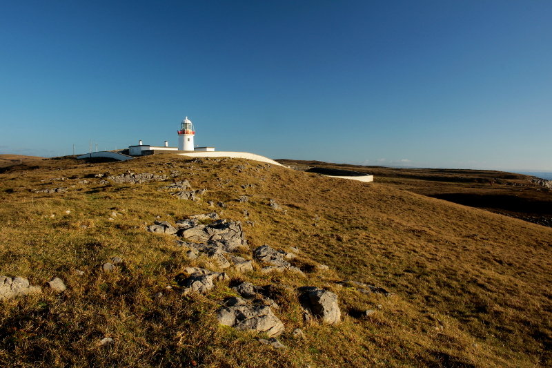The lighthouse is one of many attractions in the area.